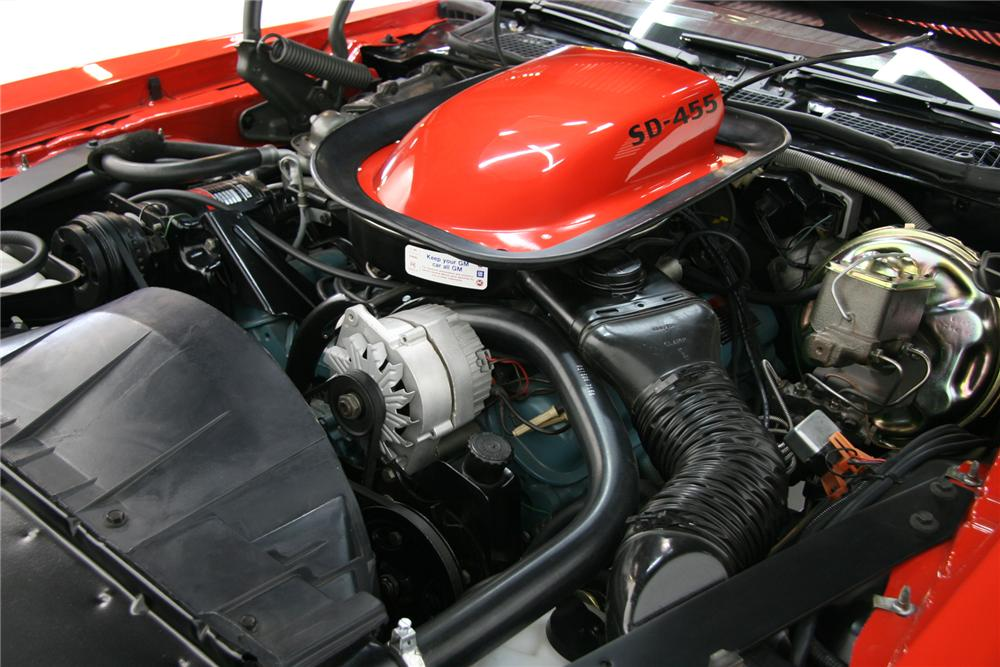 1974 PONTIAC TRANS AM SUPER DUTY COUPE - Engine - 72082