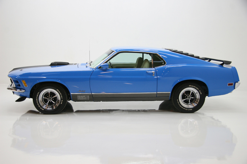 1970 FORD MUSTANG 428 CJ FASTBACK - Side Profile - 72083