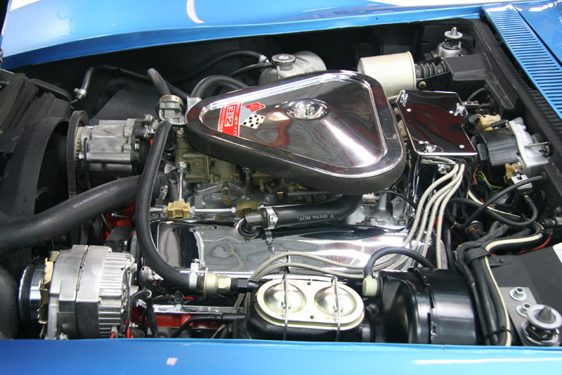 1969 CHEVROLET CORVETTE COUPE - Engine - 72084