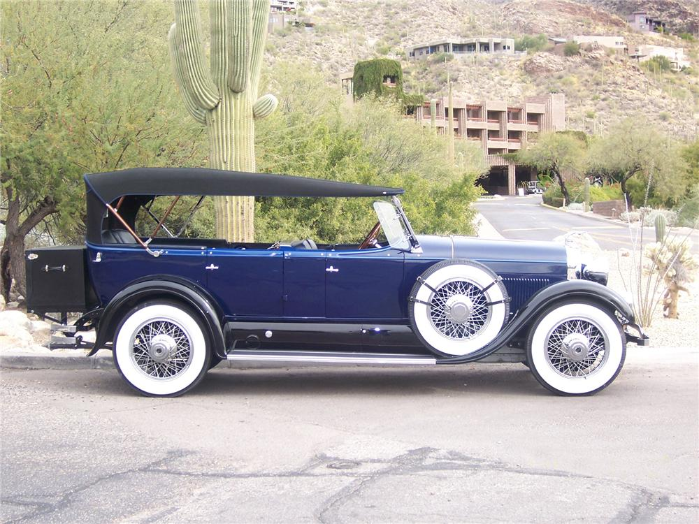 1928 LINCOLN 164 SPORT TOURING - Side Profile - 72091