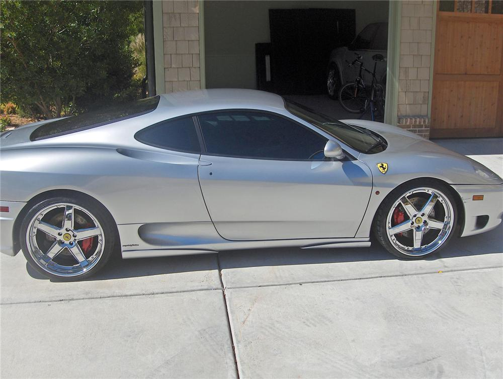 2001 FERRARI 360 MODENA COUPE - Side Profile - 72092