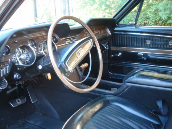 1968 SHELBY GT500 FASTBACK - Interior - 72427