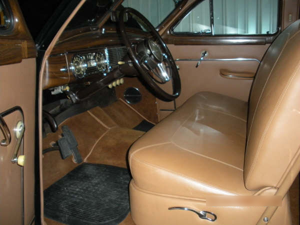 1948 PACKARD WOODY WAGON   - Interior - 72432
