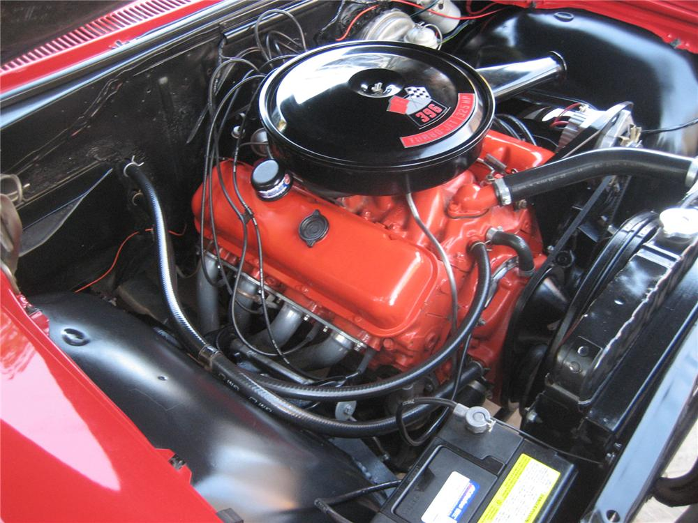 1966 CHEVROLET IMPALA CONVERTIBLE - Engine - 72437