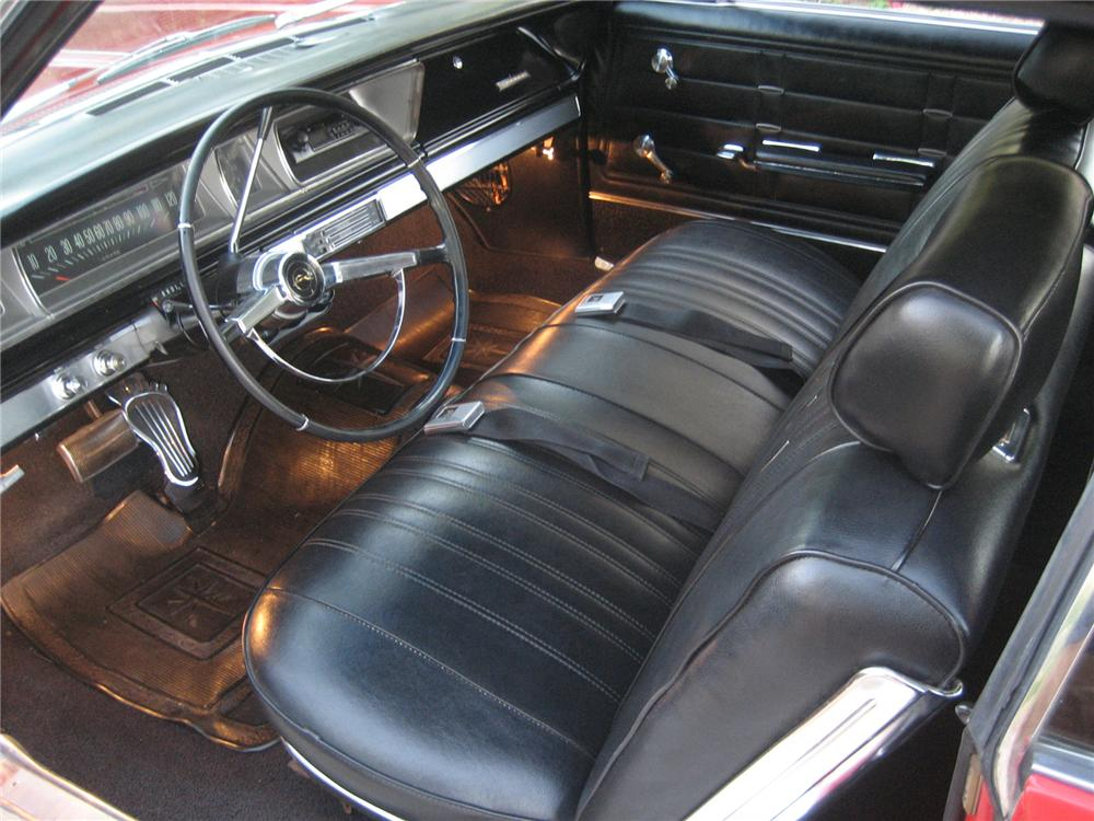 1966 CHEVROLET IMPALA CONVERTIBLE - Interior - 72437