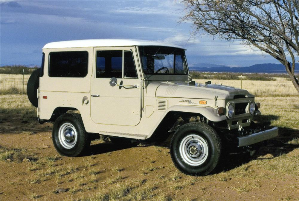 1970 toyota land cruiser 2 door hardtop 4x4 72440. Black Bedroom Furniture Sets. Home Design Ideas