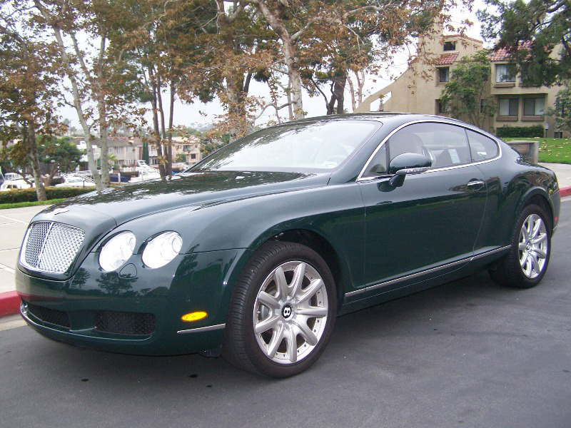 2007 bentley continental gt 2 door coupe front 3 4 72662. Cars Review. Best American Auto & Cars Review