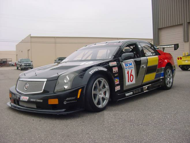 2003 CADILLAC CTS-VR RACE RE-CREATION - Front 3/4 - 72726