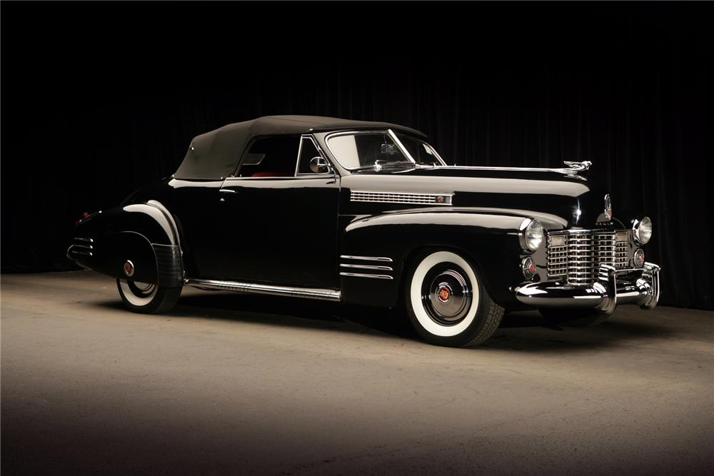 1941 cadillac series 62 2 door convertible 72796. Black Bedroom Furniture Sets. Home Design Ideas