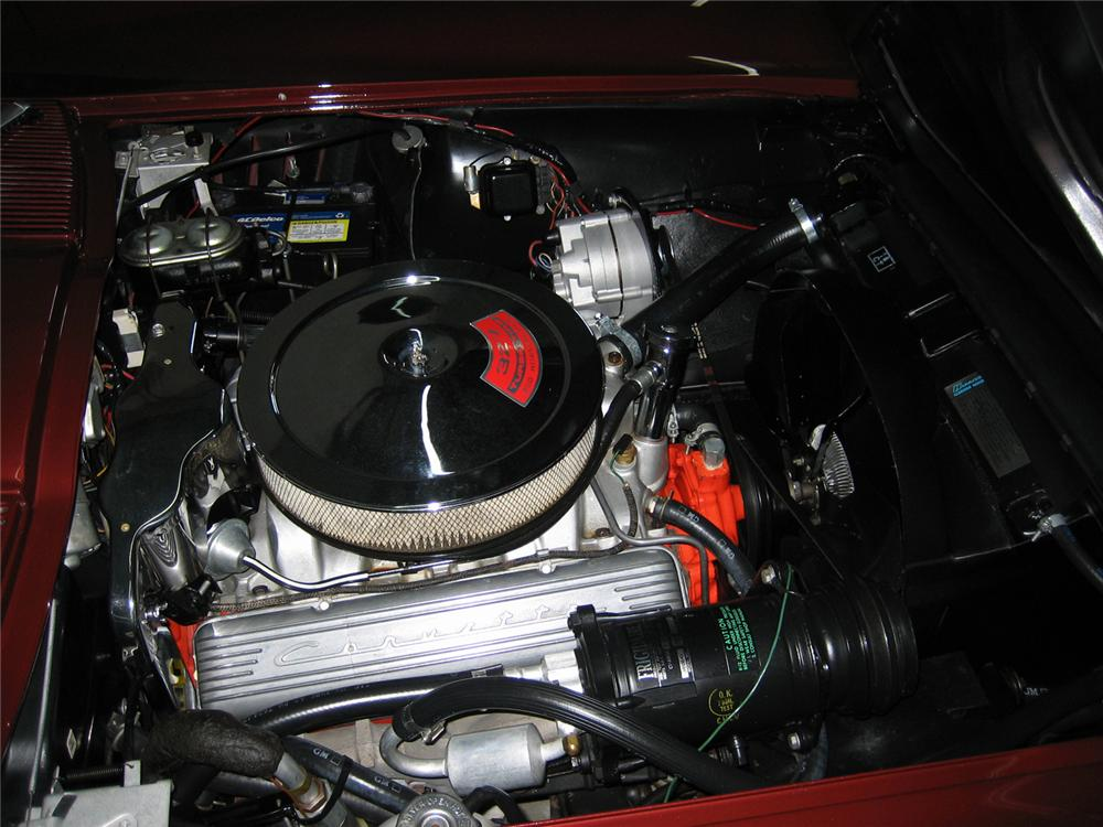 1967 CHEVROLET CORVETTE CONVERTIBLE - Engine - 72799