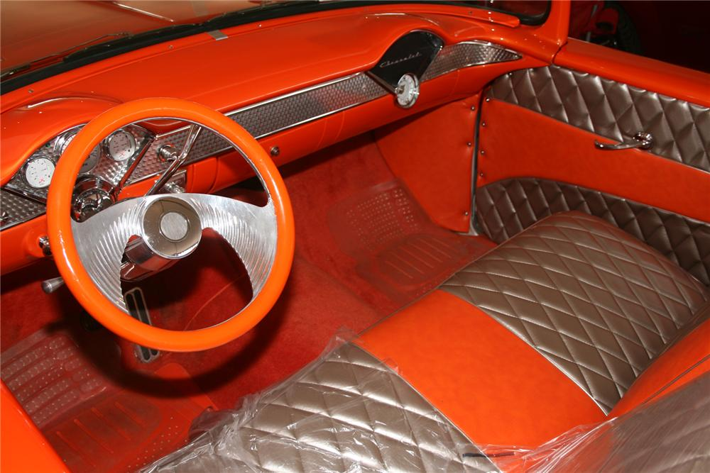 1956 CHEVROLET 210 CUSTOM ROADSTER - Interior - 72835
