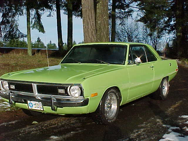 1972 DODGE DART 2 DOOR HARDTOP - Front 3/4 - 72934