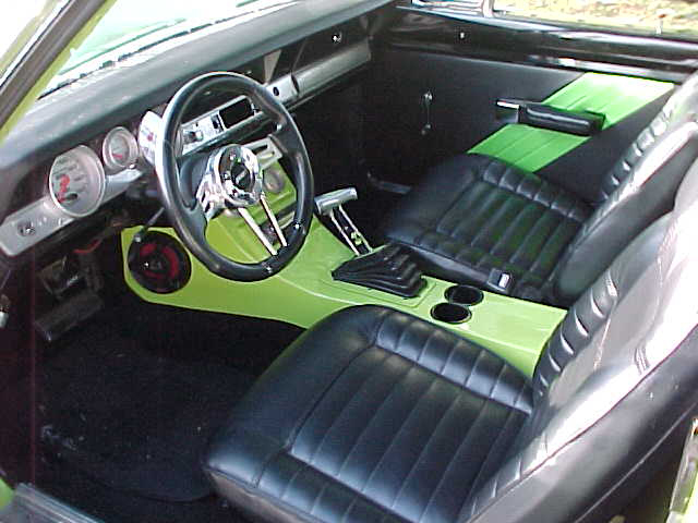 1972 DODGE DART 2 DOOR HARDTOP - Interior - 72934