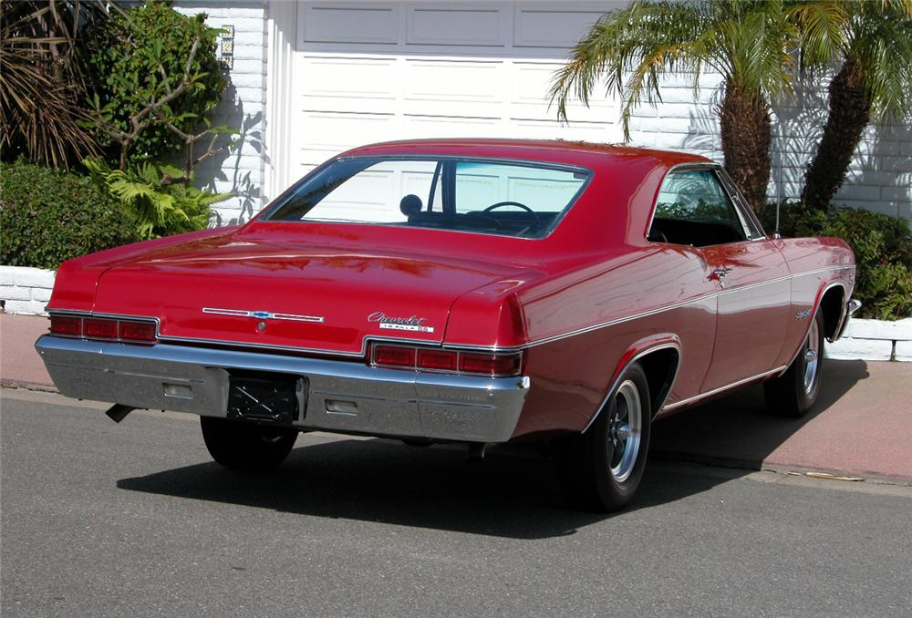 1966 CHEVROLET IMPALA SS 2 DOOR HARDTOP - Rear 3/4 - 73017