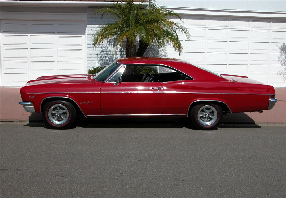 1966 CHEVROLET IMPALA SS 2 DOOR HARDTOP - Side Profile - 73017