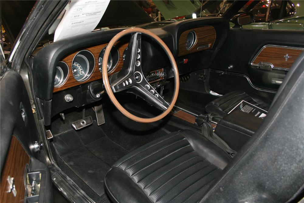 1969 FORD MUSTANG MACH 1 FASTBACK - Interior - 73025