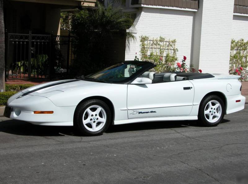 1994 PONTIAC FIREBIRD TRANS AM CONVERTIBLE - Front 3/4 - 73026