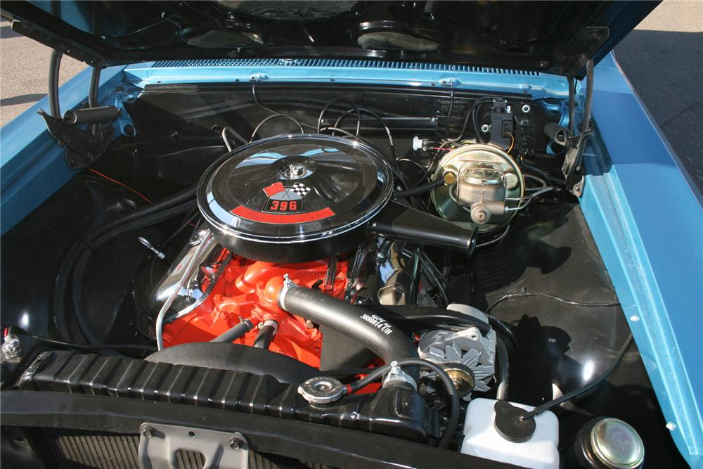 1966 CHEVROLET CHEVELLE SS 396 CONVERTIBLE - Engine - 73029