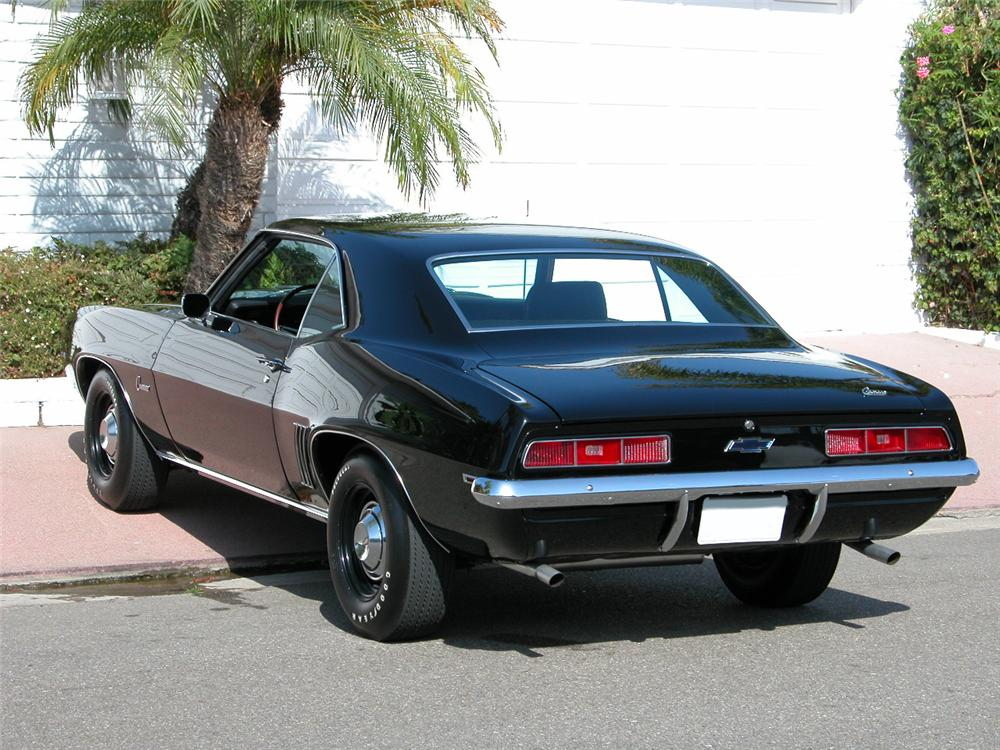 1969 CHEVROLET CAMARO COPO COUPE - Rear 3/4 - 73030