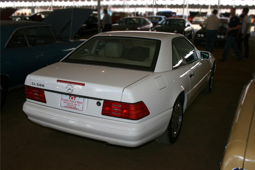 1996 MERCEDES-BENZ 500SL CONVERTIBLE - Rear 3/4 - 73042