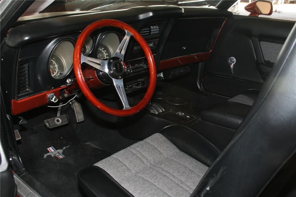 1971 FORD MUSTANG 2 DOOR COUPE - Interior - 73044