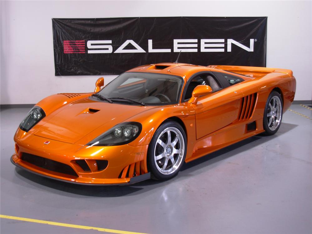 2005 SALEEN S7 TWIN-TURBO 2 DOOR COUPE - Front 3/4 - 73186
