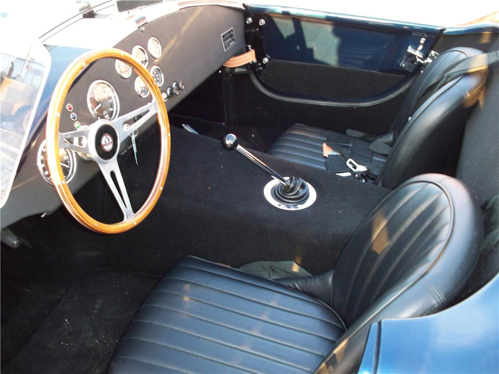 2005 FACTORY FIVE SHELBY COBRA RE-CREATION ROADSTER - Interior - 75010
