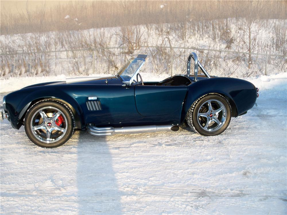 2005 FACTORY FIVE SHELBY COBRA RE-CREATION ROADSTER - Side Profile - 75010