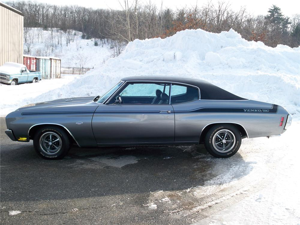 1970 CHEVROLET CHEVELLE SS CUSTOM COUPE - Side Profile - 75011