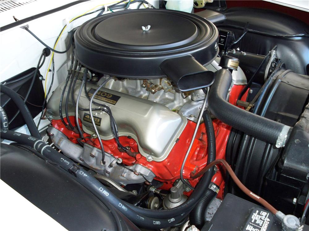 1962 CHEVROLET IMPALA SS 409 CONVERTIBLE - Engine - 75014