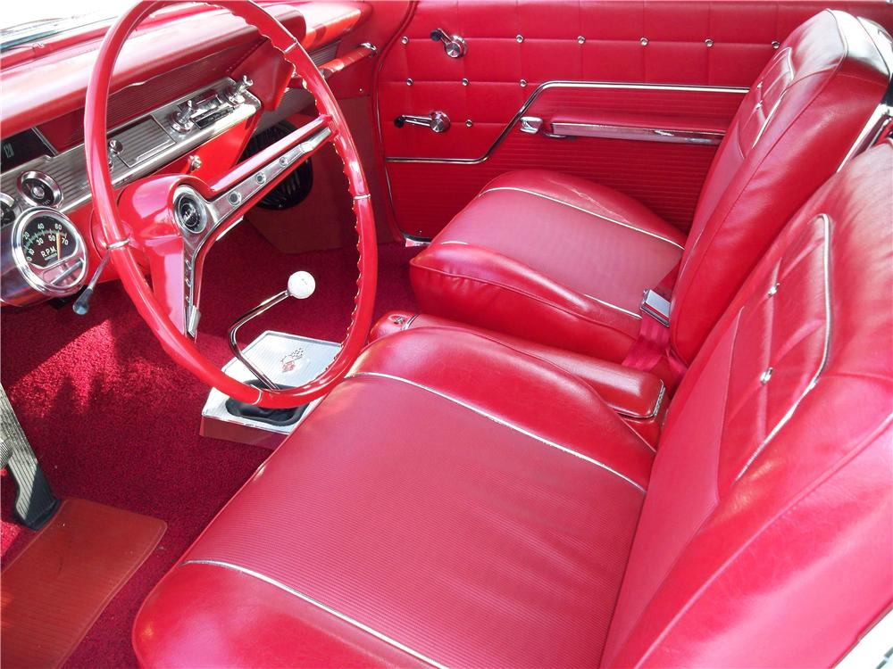 1962 CHEVROLET IMPALA SS 409 CONVERTIBLE - Interior - 75014