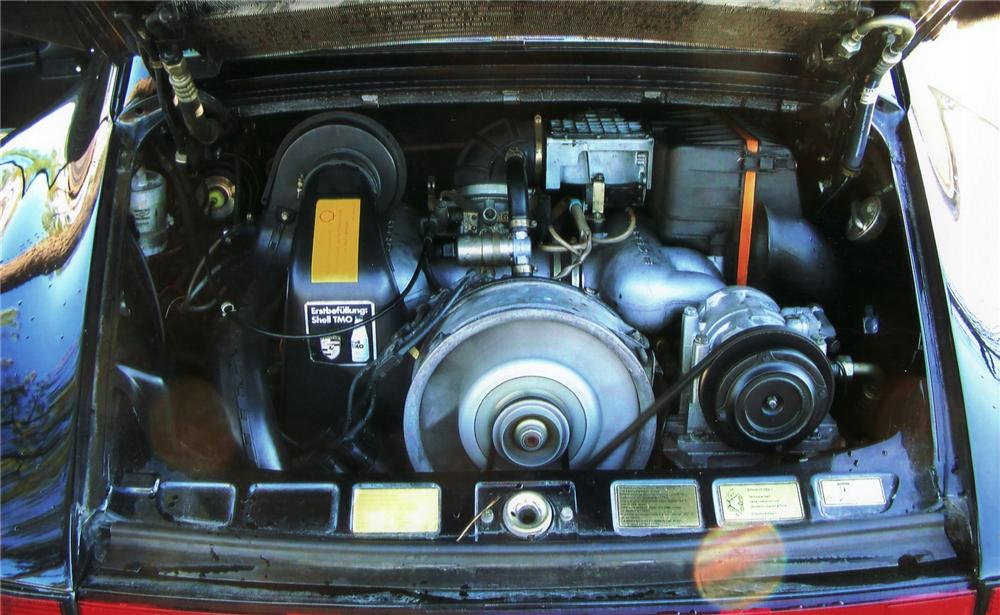 1984 PORSCHE 911 FACTORY WIDE BODY COUPE - Engine - 75024