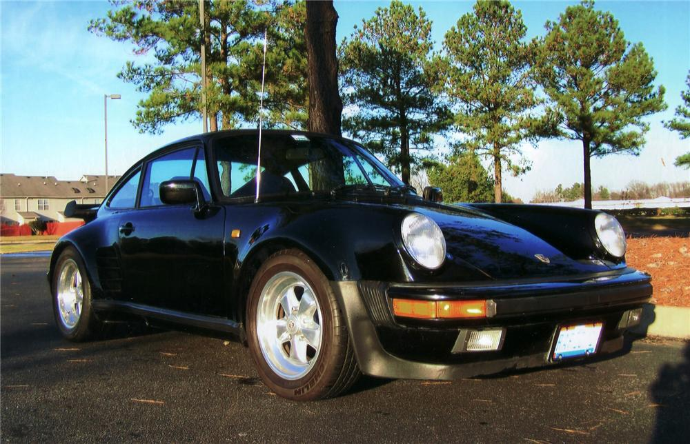 1984 PORSCHE 911 FACTORY WIDE BODY COUPE - Front 3/4 - 75024