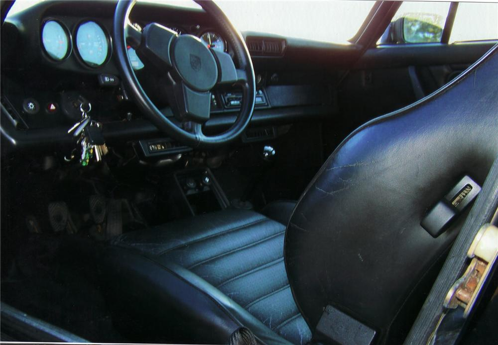 1984 PORSCHE 911 FACTORY WIDE BODY COUPE - Interior - 75024