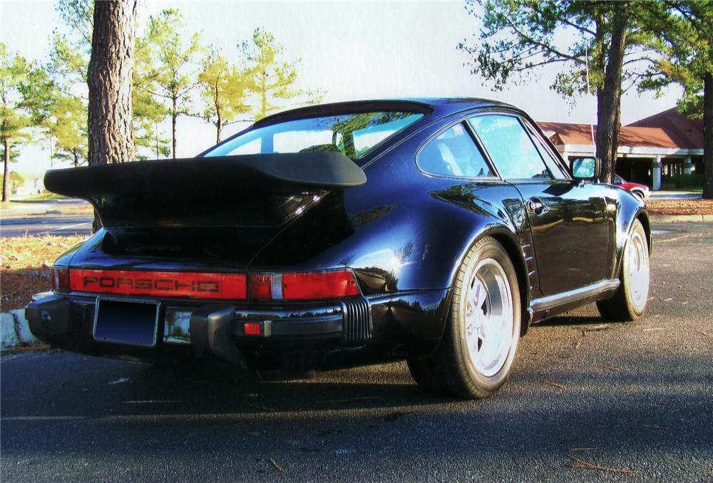 1984 PORSCHE 911 FACTORY WIDE BODY COUPE - Rear 3/4 - 75024
