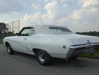 1969 BUICK GRAN SPORT GS 400 CONVERTIBLE - Rear 3/4 - 75027