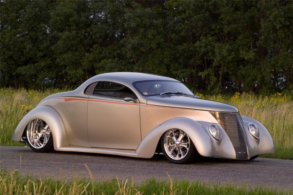 1937 ford 3 window custom coupe 75032 for Windows 4 sale