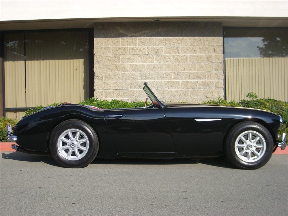 1958 AUSTIN-HEALEY 100-6 BN4 2+2 CUSTOM ROADSTER - Side Profile - 75033