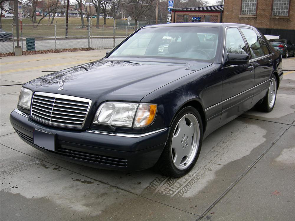 1996 MERCEDES-BENZ S600 4 DOOR SEDAN - Front 3/4 - 75036