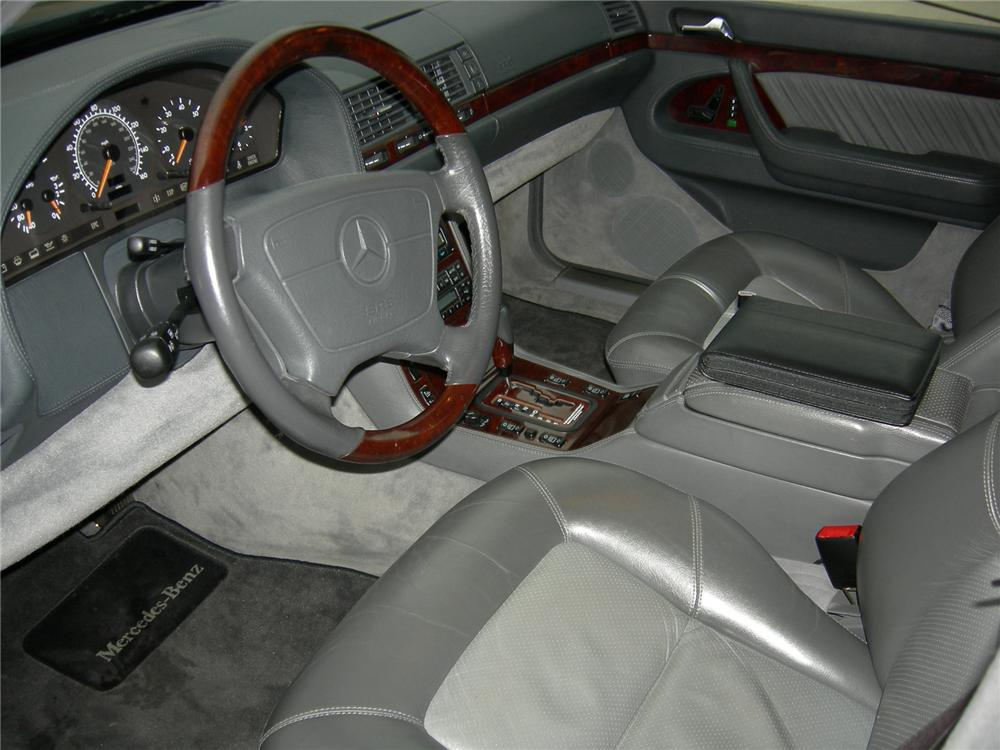 1996 MERCEDES-BENZ S600 4 DOOR SEDAN - Interior - 75036