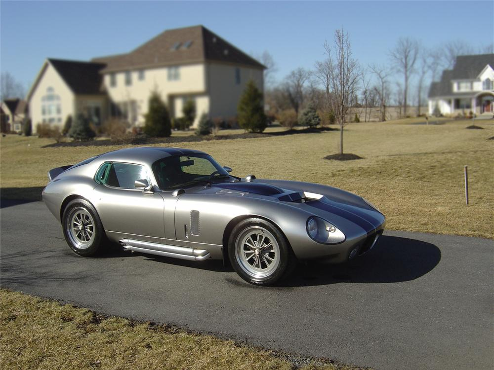 1965 Superformance Shelby Cobra Daytona Coupe Re Creation