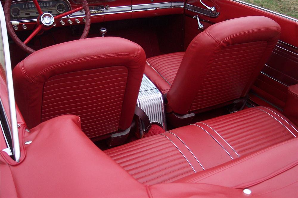 1963 FORD FALCON CONVERTIBLE - Interior - 75042