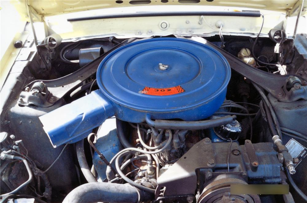 1969 FORD MUSTANG CONVERTIBLE - Engine - 75061