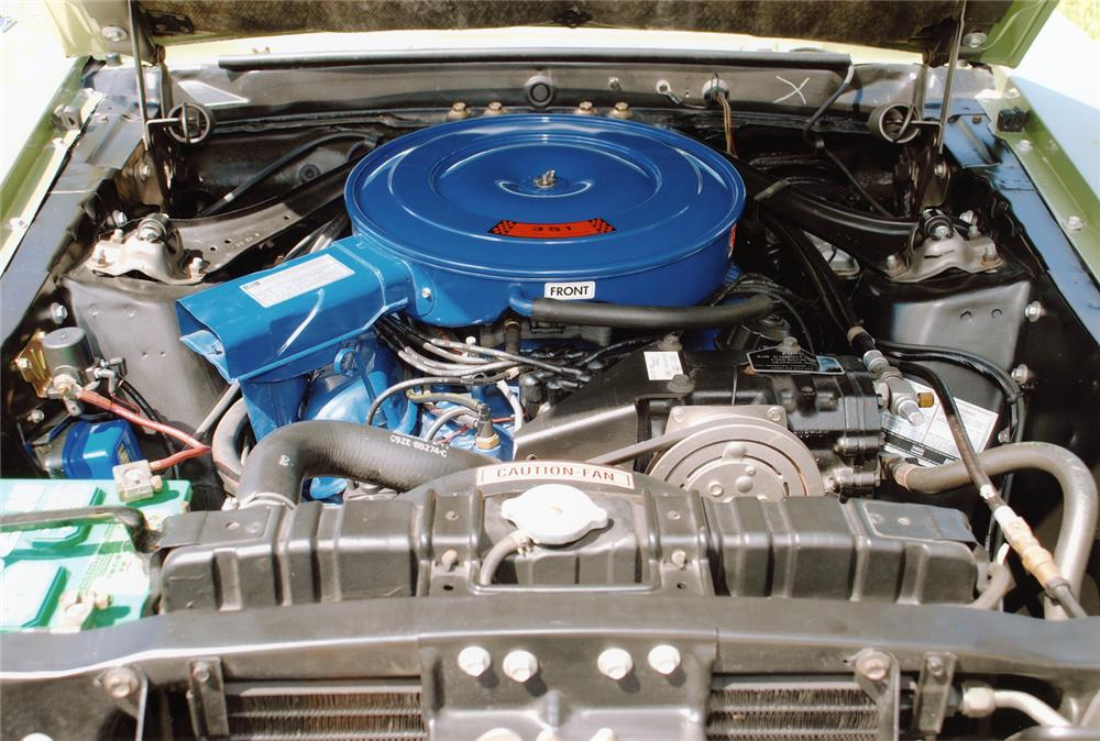 1969 FORD MUSTANG HARDTOP - Engine - 75064