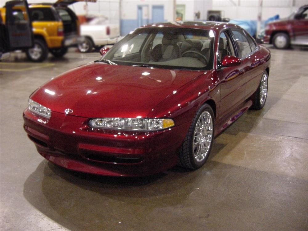 2000 OLDSMOBILE INTRIGUE OSV #2 - Front 3/4 - 75076