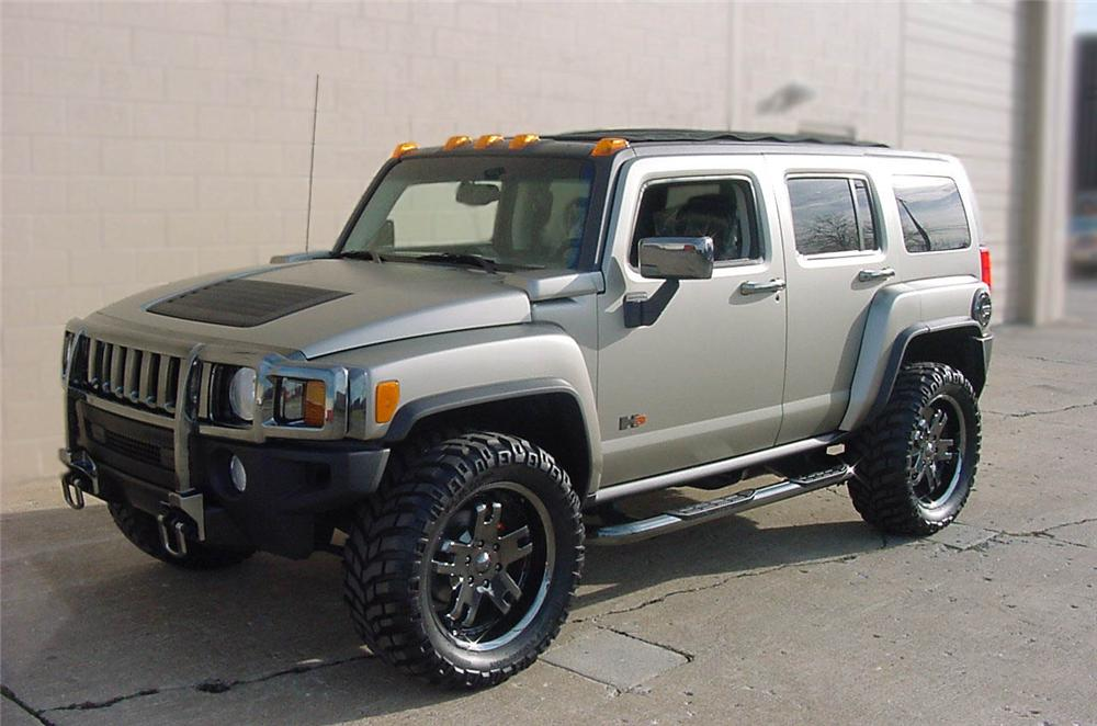 2006 Hummer H3 Canvas Roof Sema Show Car 75088