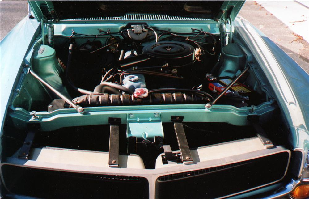 1968 AMERICAN MOTORS JAVELIN 2 DOOR COUPE - Engine - 75109
