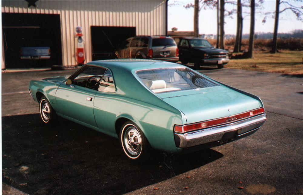 1968 AMERICAN MOTORS JAVELIN 2 DOOR COUPE - Front 3/4 - 75109