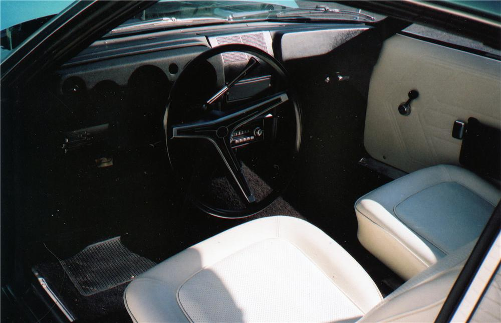 1968 AMERICAN MOTORS JAVELIN 2 DOOR COUPE - Interior - 75109