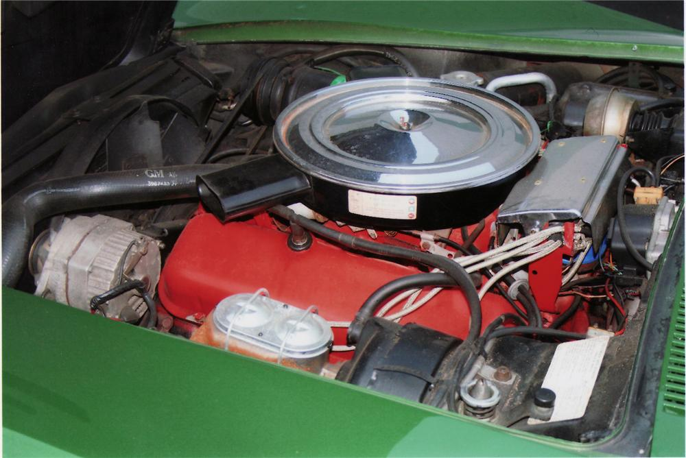 1972 CHEVROLET CORVETTE COUPE - Engine - 75112